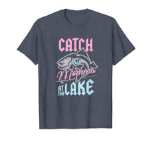 Load image into Gallery viewer, Catch This Momma At Lake Fishing Canoe Fisherwoman T-Shirt