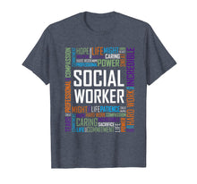 Load image into Gallery viewer, Social Worker Shirt for Women and Men Gift Tshirt