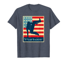 Load image into Gallery viewer, American Flag Parkour T-Shirt Parkour T Shirt Free Running