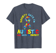 Load image into Gallery viewer, Autism Awareness T Shirt Puzzle Ribbon Gift Autistic Tshirt