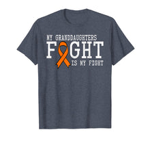 Load image into Gallery viewer, Leukemia Cancer Awareness Shirt Gift Granddaughter