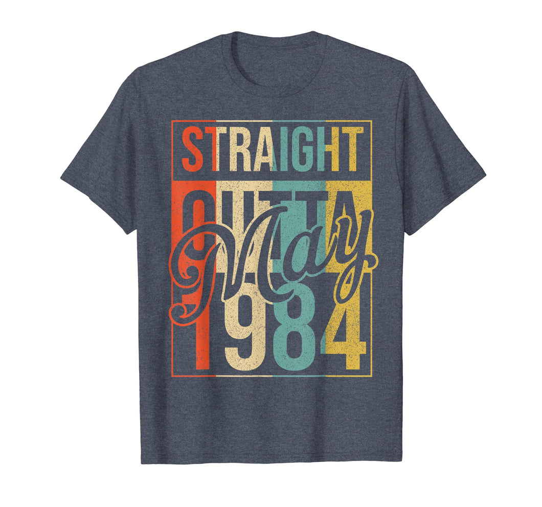 35th Birthday Gift Straight Outta Vintage May 1984 T-Shirt