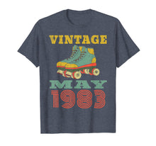 Load image into Gallery viewer, 1983 Birthday Gifts May 1983 T-Shirt 36 Years Old Shirt