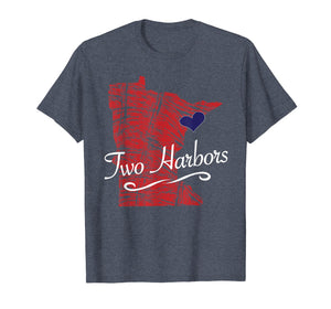 Two Harbors MN TShirt | Cute Adult Youth Tee - City State