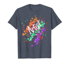Load image into Gallery viewer, Artistic Messy Artist Shirt Paint Splatter Abstract Art