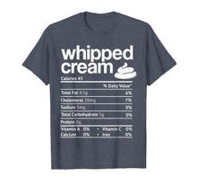 Load image into Gallery viewer, Whipped Cream Nutrition Funny Thanksgiving Christmas Costume T-Shirt
