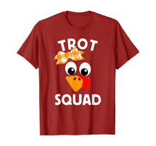 Load image into Gallery viewer, Trot Squad Running Costume Thanksgiving Marathon Turkey Trot T-Shirt
