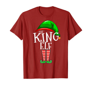 The King Elf Family Matching Group Christmas Gift Men Dad T-Shirt