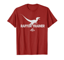 Load image into Gallery viewer, Jurassic World Raptor Trainer Silhouette Graphic T-Shirt