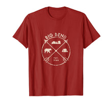 Load image into Gallery viewer, Big Bend National Park Shirt, Camping Texas Gift