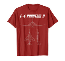 Load image into Gallery viewer, F4 Phantom Shirt Supersonic U.S. Military Jet Tee