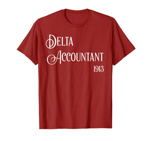 Delta Accountant Sorority t-shirt