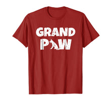 Load image into Gallery viewer, German Shepherd Grand Paw T Shirt Dog Lover Grandpaw Grandpa