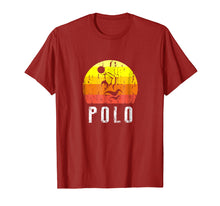 Load image into Gallery viewer, Retro Vintage Style Water Polo Silhouette T-Shirt