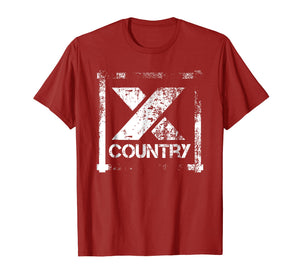 Cross Country Athlete Track Running T-Shirt