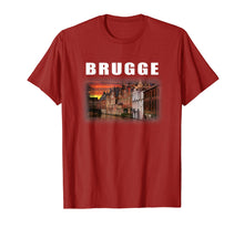 Load image into Gallery viewer, Retro Bruges-Belgium Souvenir Style Brugge T-Shirt