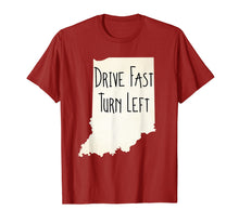 Load image into Gallery viewer, Indiana Drive Fast Turn Left Vintage Look