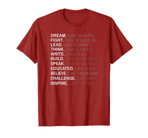 Black History Month T-shirt, Inspire like Obama Shirt