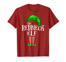 Load image into Gallery viewer, The Redneck Elf Family Matching Group Christmas Gift T-Shirt