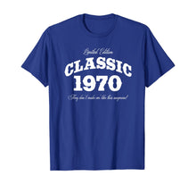 Load image into Gallery viewer, Gift for 50 Year Old: Vintage Classic Car 1970 50th Birthday T-Shirt