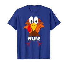 Load image into Gallery viewer, Turkey Costume Adult Running Face Turkey Trot T-Shirt