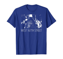 Load image into Gallery viewer, Famous West 167th Street Stairway Steps Dancing Stairs T-Shirt