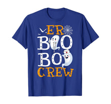 Load image into Gallery viewer, Er Boo Boo Crew Nurse Halloween Gift T-Shirt
