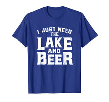 Load image into Gallery viewer, Lake And Beer Shirt Funny Lake Life Beer Drinking Gift