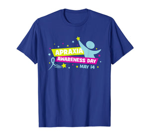 Apraxia Awareness Shirt Love & Support Apraxia Kids Gift