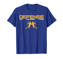 Load image into Gallery viewer, Defense Defender Stick Lacrosse Player Sports Graphic Shirt