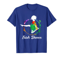 Load image into Gallery viewer, IRISH DANCE ART COLOR T-SHIRT