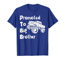 Load image into Gallery viewer, Promoted To Big Brother Monster Truck Shirt Toddler & Youth