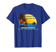 Load image into Gallery viewer, St. Tropez Beach Surf T-Shirt Summer Souvenir Tee Shirt