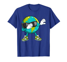 Load image into Gallery viewer, Dabbing Earth Day T Shirt Kids Boys Girls Dab Dance Gift