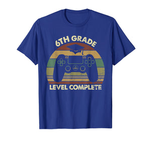 6th Grade Level Complete Game Controller Graduation Tshirt