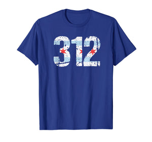 Chicago Shirt Chicago 312 Flag Area Code T Shirt City Pride