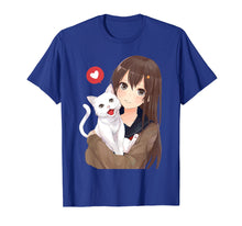 Load image into Gallery viewer, Cute Anime Girl and Kitty Cat Tee Shirt