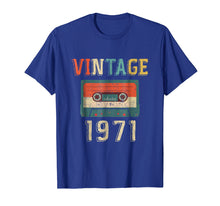 Load image into Gallery viewer, 48th Birthday Gift Vintage 1971 48 Years Old Mixtape T-Shirt