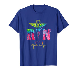 RN Registered Nurse, Health Professional Gift Shirt, Tie Dye