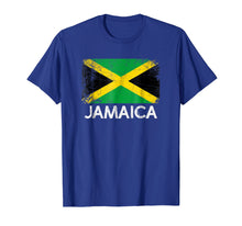 Load image into Gallery viewer, Jamaican Flag T-Shirt | Vintage Made In Jamaica Gift