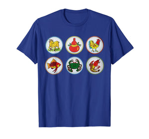 Bau Cua Tom Ca Vietnamese Game T-Shirt