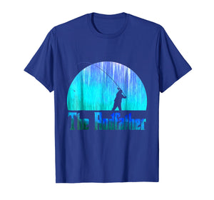 The Rodfather. Funny Fishing Tshirt for Fisherman
