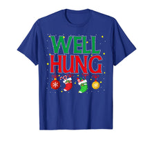 Load image into Gallery viewer, Well Hung Christmas Stocking - Offensive Inappropriate Gift T-Shirt