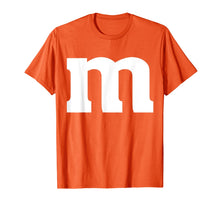 Load image into Gallery viewer, letter m Shirt lower case alphabet matching Halloween Gift T-Shirt