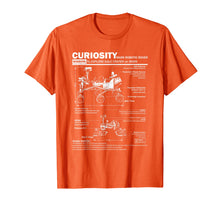 Load image into Gallery viewer, Mars Curiosity Rover NASA t shirt