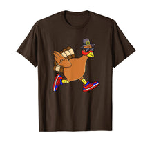 Load image into Gallery viewer, Turkey Trot Funny Thanksgiving Day Running 5K Pilgrim Gift T-Shirt