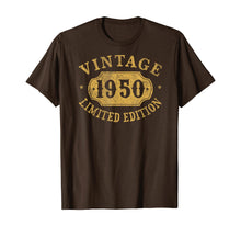 Load image into Gallery viewer, 1950 70 years old 70th Birthday, Anniversary Gift Limited T-Shirt-602825