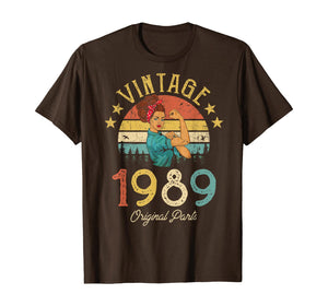 Vintage 1989 Made in 1989 30th birthday 30 years old Gift T-Shirt