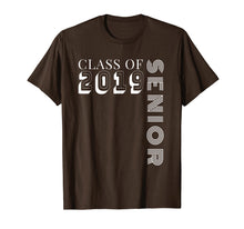 Load image into Gallery viewer, Class of 2019 Senior TShirt - High School Graduation Gift