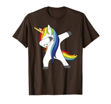 Load image into Gallery viewer, LGBT Pride Gay And Lesbian Unicorn Dabbing Funny TShirt